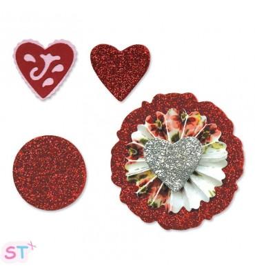 Set Flor, Corazón y Acordeón