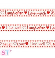 Cinta Live, Laugh, Love Marianne Design