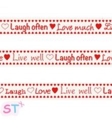 Cinta Live, Laugh, Love Marianne Design