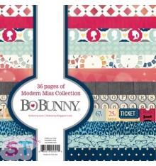 Paper pad Modern Miss 6x6 Bo Bunny
