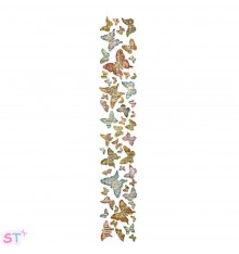 Troquel tira decorativa Butterfly Frency por Tim Holtz