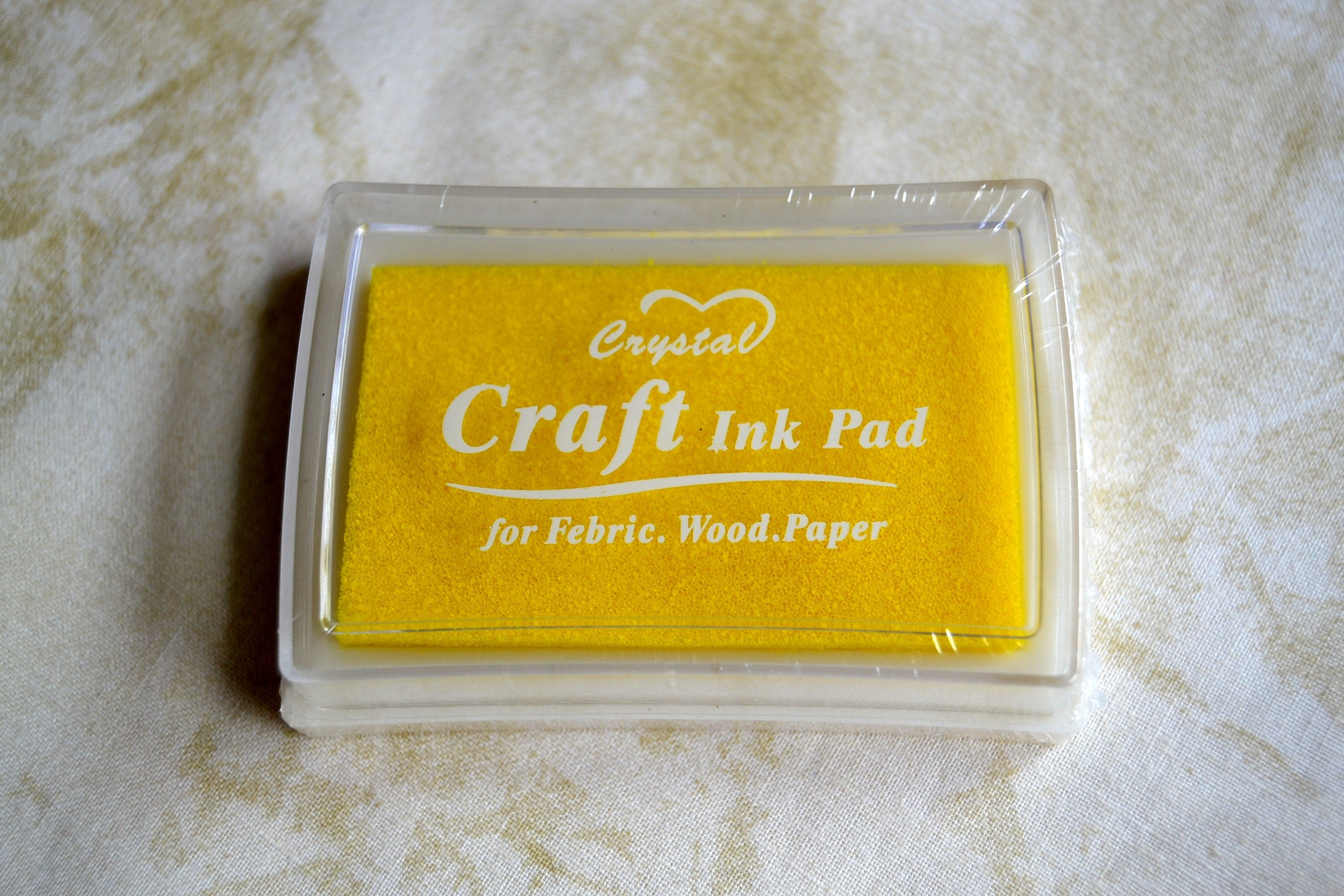 Tsukineko Brillantez Pigmento Inkpad Art Supplies Perlado Coral