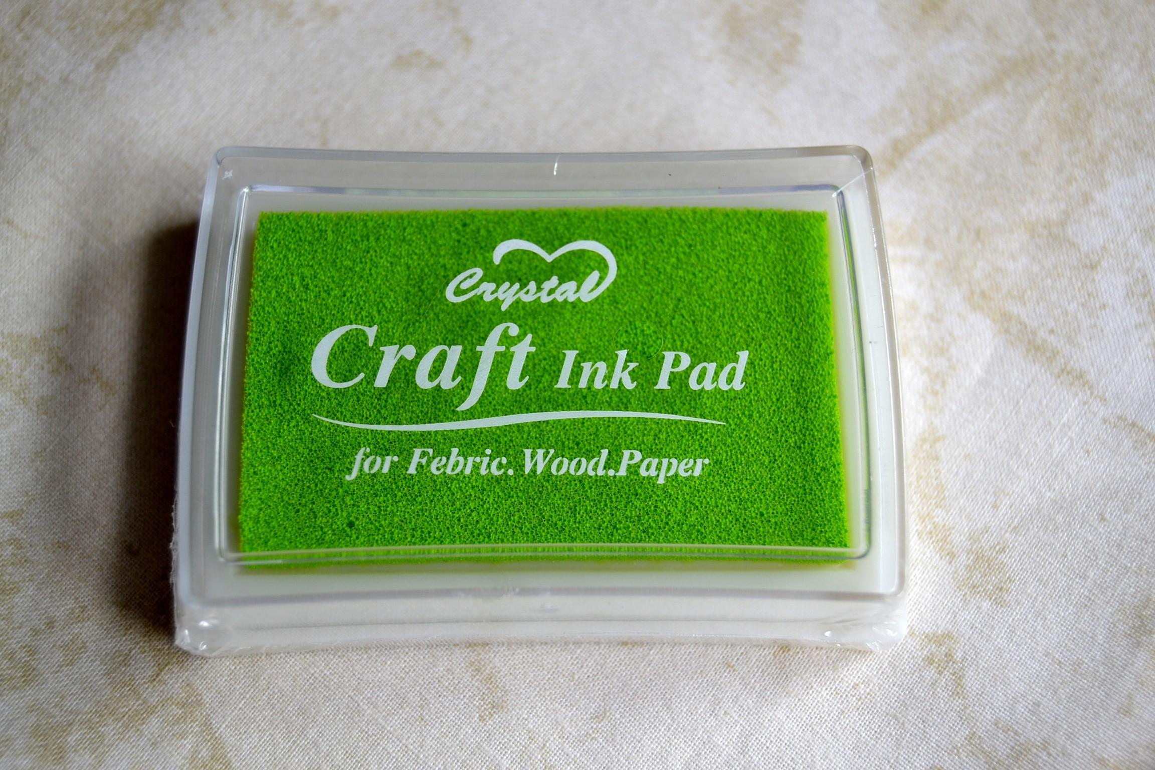 Tsukineko Brillantez Pigmento Inkpad Crafts Other Art Supplies Perlado Coral