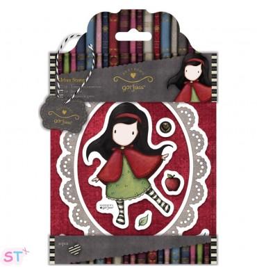 Sello Gorjuss Little Red - 10 piezas