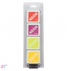 Tinta Neon 2 de Hero Arts Set de 4