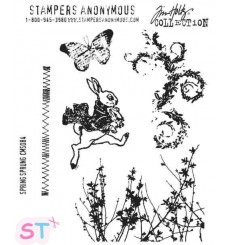 Sello Spring Sprung Stampers Anonimous Tim Holtz