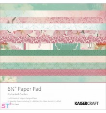 Paper pad Enchanted Garden 6,5x6,5