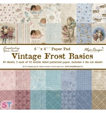 Paper pad Vintage Frost Basics 6x6