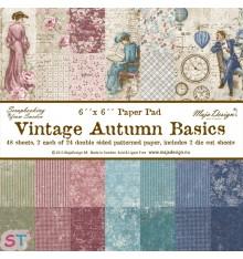Paper pad Vintage Autumn Basics 6x6