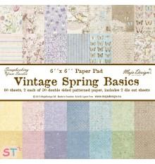 Paper pad Vintage Spring Basics 6x6