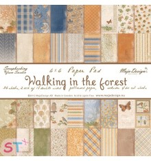 Paper pad Walking in the Forest 6x6