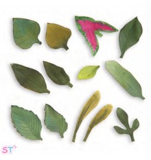 Troquel Thinlits Garden Leaves