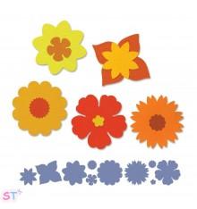 Troquel Tira Decorativa Summer Florals Brenda Walton