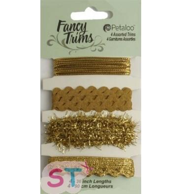 Cuatro cintas doradas