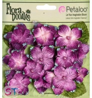 Velvet Hydrangeas Plum
