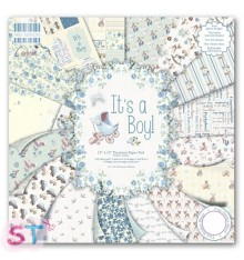Paper pad First Edition Its a Boy 12x12 Dovecraft