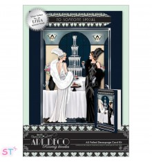 Papermania Art Deco A5 Decoupage Card Kit