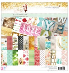 Paper pad All that Glitters 12x12 Websters Pages