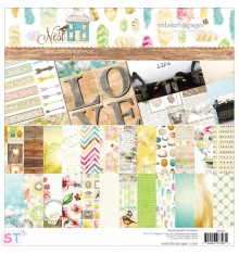 Paper pad Nest 12x12 Websters Pages
