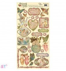 Vintage Stickers Fairy Enchanting