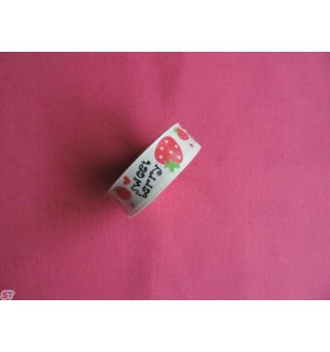 Fabric tape Fresas