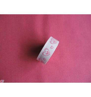 Fabric tape Corazones