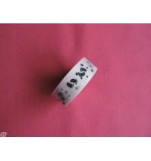 Fabric tape Huellas