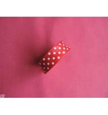 Fabric tape Lunares Rojo
