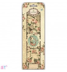 Santoro Mirabelle Deco Mache 3 hojas Flowers and Birds