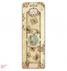 Santoro Mirabelle Deco Mache 3 hojas Stamp Repeat