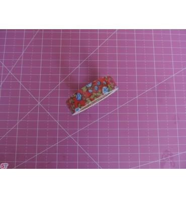 Fabric tape Vintage Rosas