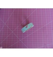 Fabric Tape florecitas blancas azul