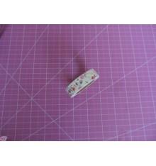 Fabric Tape florecitas chispa