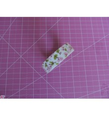Fabric Tape capullos rosa