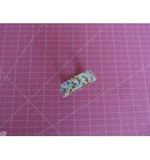 Fabric Tape capullos azul