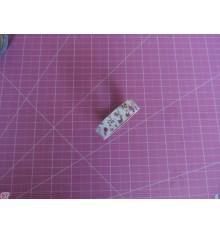 Fabric Tape capullos malva