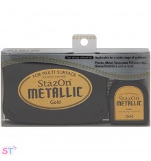 Tinta Stazon Metallic Kit Cobre