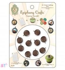 Epiphany Crafts Clear Bubble Caps Redondas 14