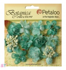 Botanica Sugared Mini Blooms Teal x 11