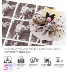 Hoja de Plástico Mágico especial fotos