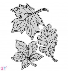 Sello Hydrangea Garden Stampendous