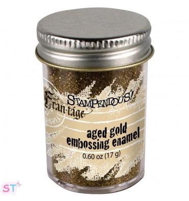 Polvo de emboss Aged Embossing Enamel Gold