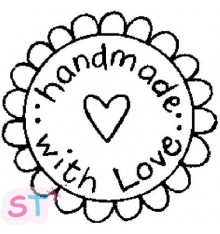 Sello Handmade with Love