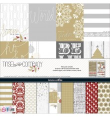Paper pad Tinsel & Company Collection Pack 12x12