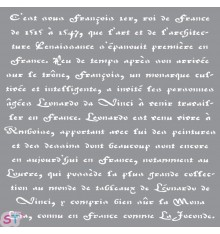 Plantilla Americana Old French Script