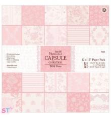 Paper pad Wild Rose 12x12