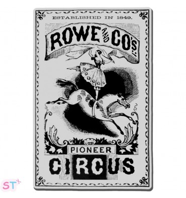 Sello Circus Poster Stampendous