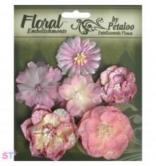 Mixed Blooms Mauve x 6