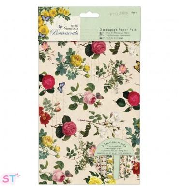 Botanicals A3 Decoupage Paper