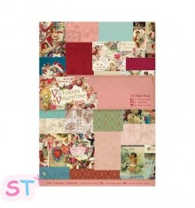 Victorian Valentine A4 Paper Pack